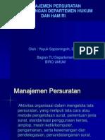 Manajemen Persuratan