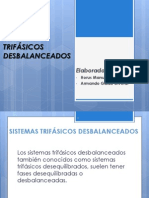 SISTEMAS TRIFÁSICOS DESBALANCEADOS