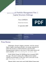Capital Structure Arbitrage