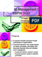 Financial Management I_Chapter 1