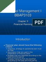 Financial Management I_Chapter 9
