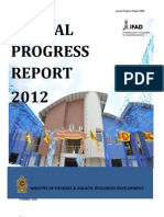 Annual Progress Report 2012-IfAD PTCRRMP
