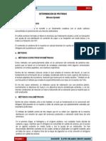 DETERMINACIÓN DE PROTEINAS-TEORIA