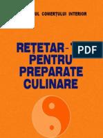 Retetar pentru preparate culinare