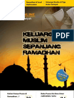 Keluarga Muslim Sepanjang Ramadhan