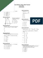 Sma - Matematika Ips - 1993