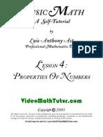 Video Math Tutor