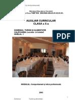 Turismsialimentatiex Comportament Si Etica Profesionala
