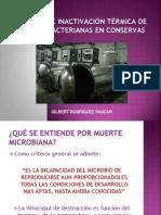 Cinetica y Validacion Procesos Termicos 2013