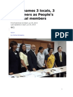 Bersih unveils global line-up for People's Tribunal