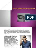Tips for Highly Sensitive People