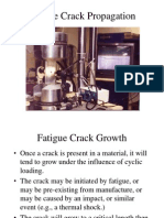 Fatigue Crack Propagation