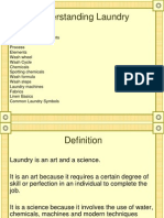 Laundry- An Housekeeper Perspective