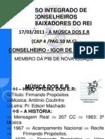 Aula 10 - Musica Dos e.r.cons.Igor Andrade