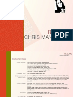 Chris Mansell Poet Resume