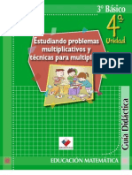 planes de clase multiplicacion y división