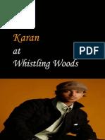 Karan at Whistling Woods Mumbai