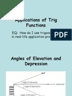 2.28 Trig Applications