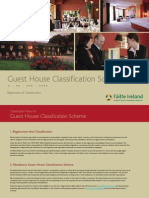 Guest House Classification Matrix
