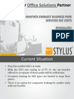 Office Space In Bangalore SEZ | Stylus