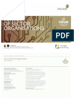 Survey of Sector Organisations