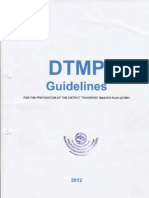 DTMP Guideline 2012