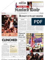 03/11/09 - The Stanford Daily [PDF]