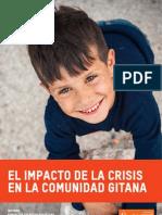 El Impacto de La Crisis en La Comunidad Gitana