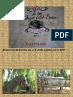 Encuentro de bolillos La Fuiola 2007