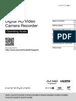 CamCorder User Manual