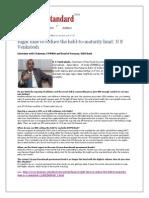 Chairman Interview Business Standard