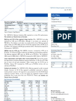 Reliance Industries, 1Q FY 2014