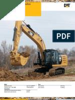 Catalogo Excavadora Hidraulica 329e Caterpillar