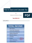 How to Save and Calculate Income Tax on Salary