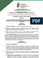 Ley Departamental 55