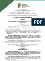 Ley Departamental 54