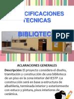 EXPEDIENTE TECNICO BIBLIOTECA .ppt