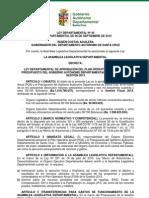 Ley Departamental 49