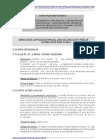 Especificaciones Tecnicas Agua Potable 01 Capatacion Matapuq