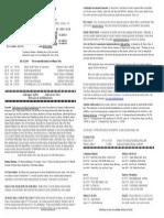 Bulletin July 28, 2013