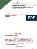 Requerimento de Juízo Incompetente (CITAÇÃO) - Com Numeração de Pág