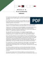 Modulo III Conclusión y Reflexión