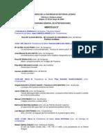 Programa General Definitivo VI Congreso SELat
