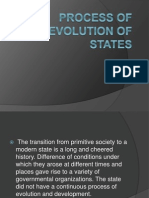 b. Evolution of States