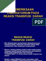 28. Pem Lab Pada Reaksi Transfusi