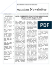 Quezonian Newsletter December 2008