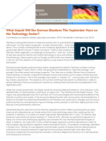 What Impact Will the German Elections This September Have on the Technology Sector?