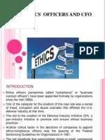 Ethics Officers n Cfo