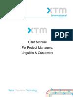 XTM Manual