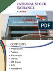 National stock exchange of India (NSE)